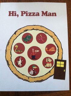 Hi, Pizza Man Infographic- Storytiming.com