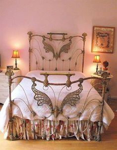 Love this bed frame