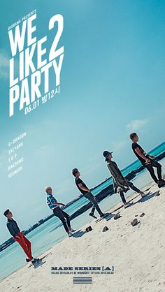 BIGBANG likes to party at the beach in 2nd title track's teaser poster for MADE series [A]
