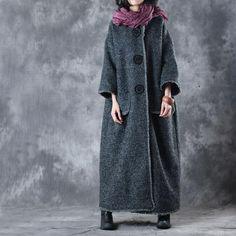 Women Loose Long Coat
