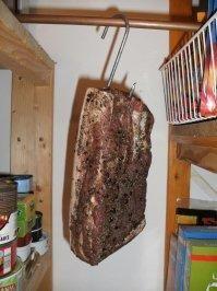 Rezept: Wursten: Schweinebauch, gepökelt und luftgetrocknet Bild Nr. 3