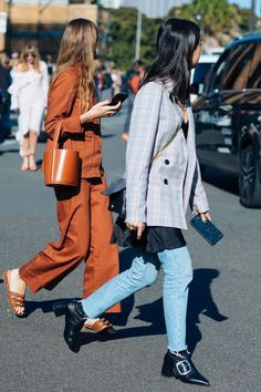 See the best looks spotted outside the Fashion Week shows by Sandra Semburg on the streets of Sydney.