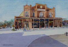 Antique Store, Gruene, Texas by Colin Joyce