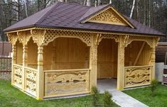 Pergola With Metal Roof Pergola Garden, Garden Trellis, Backyard Landscaping, Grill Gate Design, Roof Design, Pergola With Roof, Cheap Pergola, Cool Woodworking Projects, Woodworking Plans