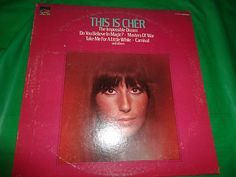 This Is Cher vintage music record find me at www.dandeepop.com