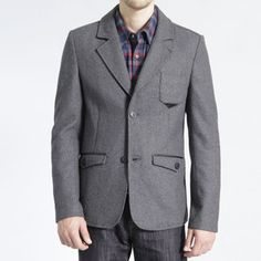 Eclipse Blazer Gray, $69, now featured on Fab.