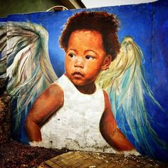 Muurschilderingen op Curacao