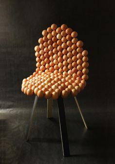 La fragile de Laure-Anne Caillaud / food design / food art / design culinaire #Expo2015 #Milan #WorldsFair