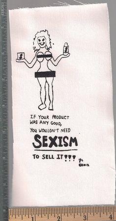 Feminist antisexism anticorporate riot grrrl punk by breatheresist, $2.00