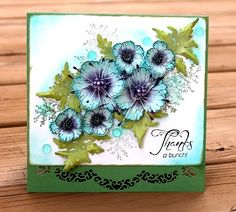 Dear All,  Here is another great release from Heartfelt Creations.   I am so exited to share one of my favorite cards using the very new col...