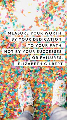 Inspirational Quotes about Work : QUOTATION - Image : As the quote says - Description I love this motivational quote about success by Elizabeth Gilbert. Post Quotes, Find Quotes, Motivational Quotes For Life, Positive Quotes, Quotes To Live By, Inspirational Quotes, Love Work Quotes, Quotes About Work, Positive Life