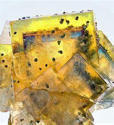Minerals, Crystals & Fossils - Fluorite - Bergmännisch Glück Mine, Frohnau,...