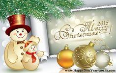 Crăciun fericit și un An Nou Fericit 2015 Cards_3