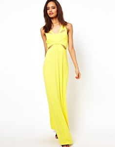 Enlarge ASOS Maxi With Cut Out