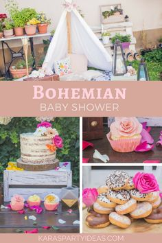 Bohemian Baby Shower