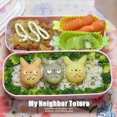 Karenwee's Bento Diary: Bento2015#May11~Totoro Mashed Potato