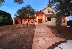 Modern Ranch Timber Framed Home Texas Timber Frames