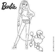 Las 9 Mejores Imágenes De Barbie Para Colorear En 2016 Barbie Para