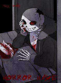 1. HorrorTale! Sans | Artist Lazuen