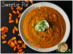 On October 9th, 2012, Tropical Foods had its Flavors of the Fall Recipe Contest with the culinary students at the Charlotte Campus of Johnson & Wales University. This recipe, Sweetie Pie Soup was created by Micheal Daniel.