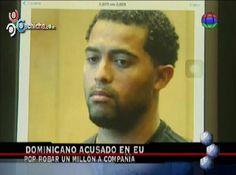 Acusan A Dominicano En EEUU De Robar Un Millón De Dólares A Compañía #Video