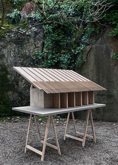 Selected Work Biography Grounds of Tweeling / Hotel, Stables and Event Space / Nakhon Nayok, Thailand / 2016 / Reclaimed Hardwood, Reclaimed Brick, Lime. Maquette Architecture, Landscape Model, Arch Model, Roof Detail, Outdoor Furniture Sets, Outdoor Decor, Urban Furniture, Urban Planning, Model Building