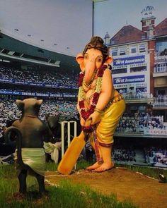 """On Instahghjkkijmmkgram: """"Jai shree Ganesh"""". Ganesh Lord, Sri Ganesh, Ganesha Pictures, Ganesh Images, Ganesh Idol, Ganesha Art, Ganesh Bhagwan, Ganpati Picture, Baby Ganesha"""
