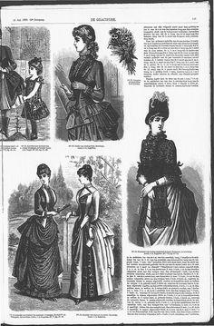 Gracieuse. Geïllustreerde Aglaja, 1885, aflevering 19, pagina 149