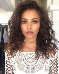 17+ Best Hairstyles for Shoulder Length Curly Hair - Page 4 of 19 - The Styles | The Styles | 2017 The Best Style for Women