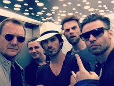 Ian Somerhalder - 29/05/16 - ..don't mess with these guys.. iansomerhalder mr.danielgillies natebuzz #vampirediaries #theoriginals #thegangsallthere https://www.instagram.com/p/BF_p4l4Jgxk/?taken-by=realsebroche&hl=es - Twitter / Instagram Pictures