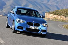 New #BMW 1-Series Three-Door Hatchback with 101hp to 315hp for the #M135i - The petrol lineup includes the new 114i with a 101hp (102PS) 1.6-liter turbo four-cylinder, the 116i with a 134hp (136PS) 1.6-liter turbo'd inline-four, the 125i with a 215hp (218PS) 2.0-liter turbocharged four and the new M135i that features a 3.0-liter turbocharged straight-six producing 315hp (320PS) at 5,800rpm and 450Nm (332 lb-ft) from 1,300 to 4,500rpm.
