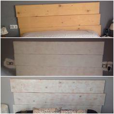 Cómo hacer nuestro propio cabezal de madera   Decorar tu casa es facilisimo.com