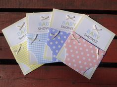 best homemade baby shower invitations