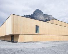 Sports Hall.  Sargans, Switzerland.  Blue Architects & Ruprecht Architekten