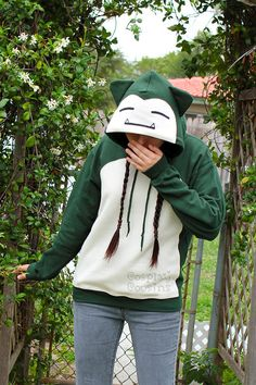Snorlax Inspired Pullover Hoodieby *CosplayCousins Please do not remove credits.