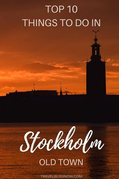 10 Top Things To Do in Stockholm's Old Town - The Top 10 Things to Do in Stockholm Old Town, Sweden Stockholm Old Town, Stockholm Travel, Stockholm Sweden, Top Europe Destinations, Europe Travel Tips, Travel Guides, Travel Hacks, Travel Essentials, European Destination