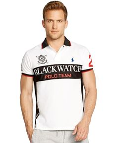 Polo Ralph Lauren Black Watch Custom-Fit Performance Mesh Polo Shirt