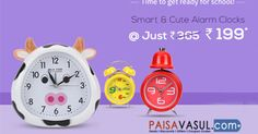 Firstcry Offers: Alarm Clocks Starts At Rs.199  http://www.paisavasul.com/code/firstcry-offers-alarm-clocks-starts-at-rs-199  #paisavasul #firstcry #alarmclocks