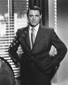 Cary Grant/ Such class! AND, my all-time FAVORITE actor.  I'll watch his movies anytime, and time and time, again.