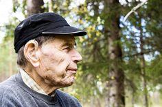 Pentti Linkola arvostaa koskematonta luontoa ja raskasta työtä.