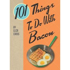 Make delicious bacon dishes & meals with the 101 Things to do With Bacon cookbook! All 101 things involve cooking and eating, which are the best things you can do with bacon. Bacon Recipes, Wine Recipes, Barbecue Pizza, Bacon Cupcakes, Best Bacon, Bacon Bacon, Bacon Waffles, Candied Bacon, Maple Bacon