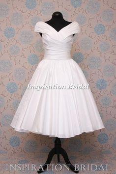 1551 Robes de mariées courtes devant Neuf blanche ivoire taille 8 10 12 14 16 18   eBay