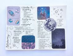 space layout. art journal page