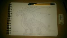 Dragon, I think my best drawing :)