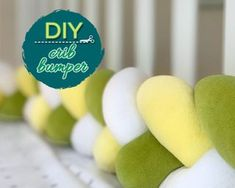 Baby Crib/Cot Braided Bumper: Hi everyone!Today I would like to share with you how to make Braided Bumper for Baby Bed, cute and trendy DIY nursery decor. You can make it monochrome, or use any color you like. Diy Bumper, Baby Cot Bumper, Baby Crib Diy, Baby Crib Bumpers, Bumper Pads For Cribs, Diy Nursery Decor, Baby Decor, Nursery Ideas, Crib Bumper Tutorial