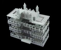 #3DPrinted #3DPrinting #Architecture #Model