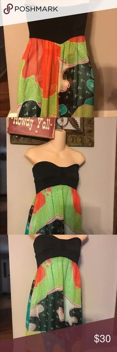 "NEW DIANE VON FURSTENBERG SILK DRESS SZ 6 NEW DIANE VON FURSTENBERG BACKLESS DRESS 100 SILK.....UNDERARM TO UNDERARM 16""......LENGTH 29""...THANKS FOR LOOKING AT MY CLOSET Diane Von Furstenberg Dresses Backless"