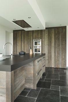 Kitchen Interior, Kitchen Design, Kitchen Decor, Beautiful Kitchens, Cool Kitchens, Kitchen Seating, Barn House Plans, Kitchen On A Budget, Kitchen Remodel