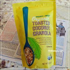 Trader Joe's Organic Toasted Coconut Granola $3.99 |トレーダージョーズ オーガニック ココナッツグラノーラ #TraderJoes #Organic #Coconut #Granola
