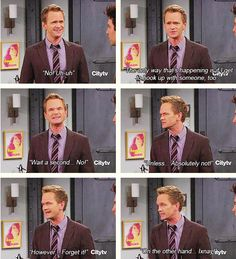 I <3 you Barney :) How I Met Your Mother #himym